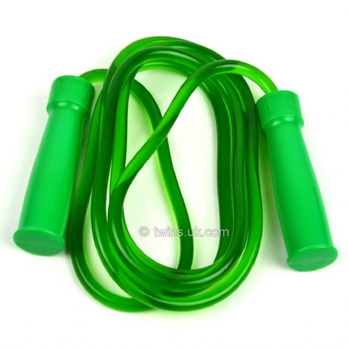 Twins Heavy Bearing Skipping Rope - Green